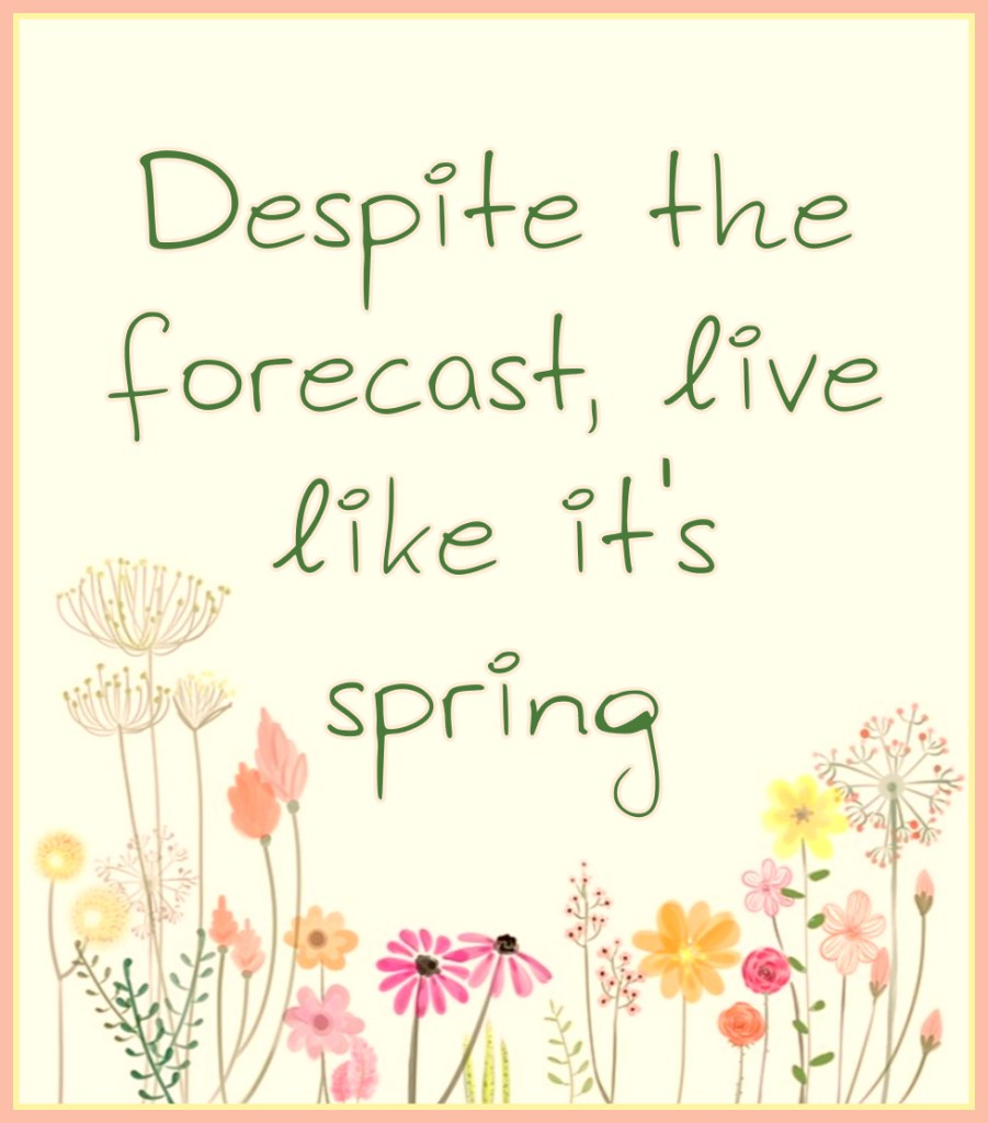 Despite the forecast, live like it's spring Lilly Pulitzer Quote be kitschig blog Berlin