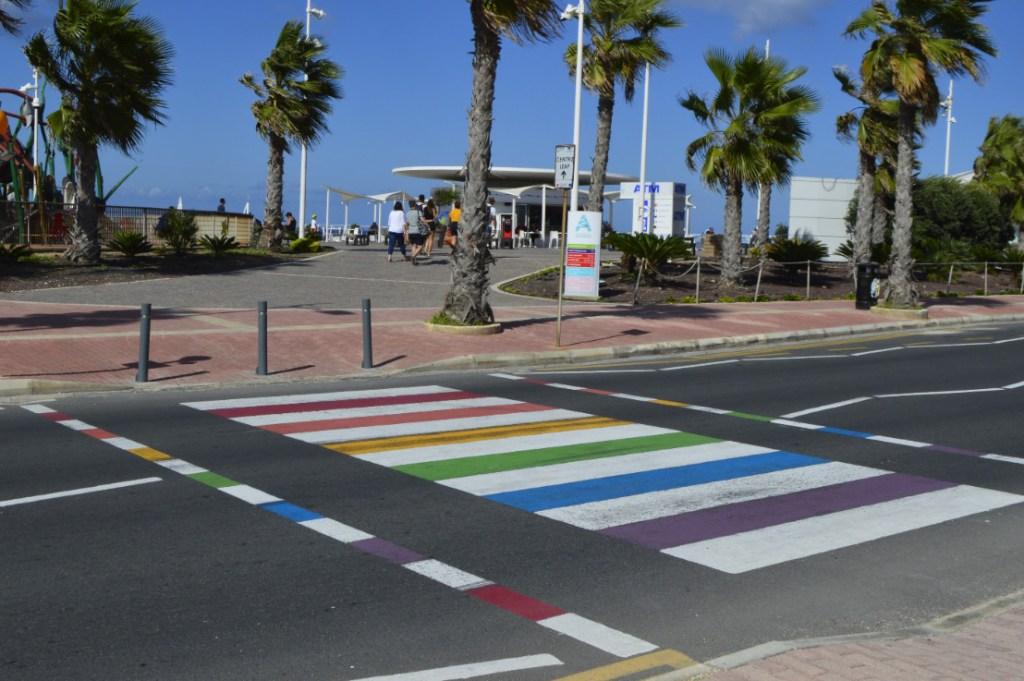 Walk with Pride National Aquarium Malta be kitschig blog rainbow crossing