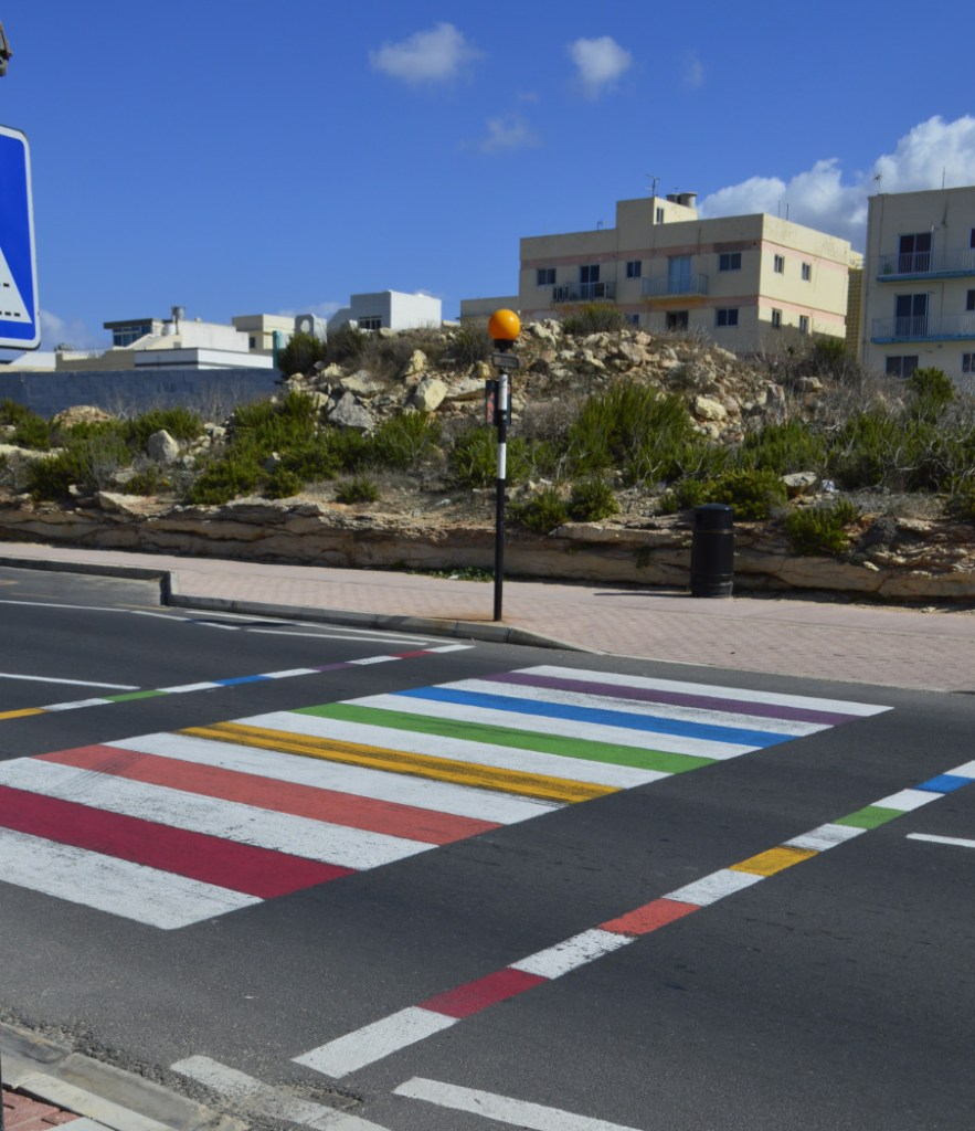 Walk with Pride National Aquarium Malta be kitschig blog rainbow crossing