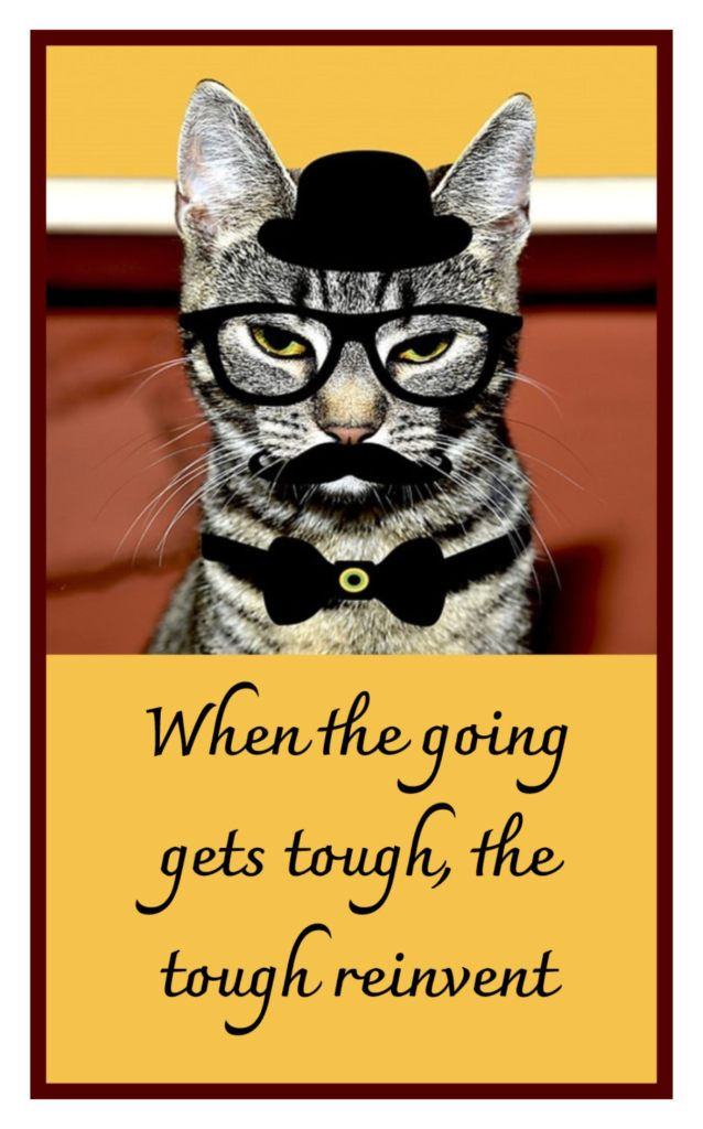 When the going gets tough, the tough reinvent. RuPaul #quote be kitschig blog Berlin