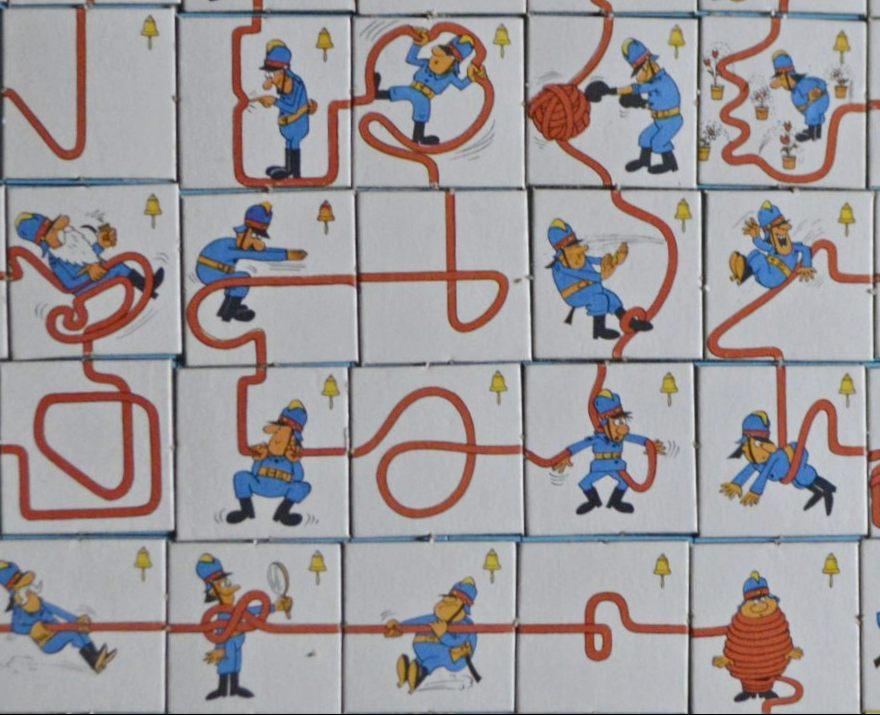 Vintage Fun With Ran DDR Spiel SPIKA