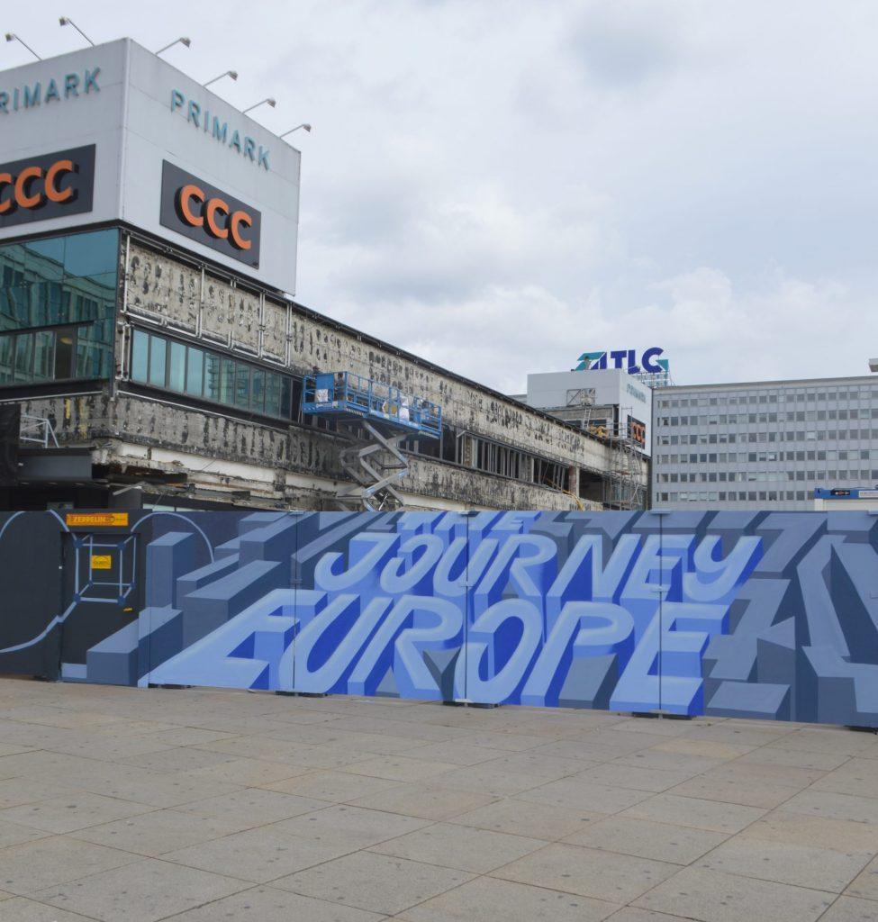 The Journey Europe schicke Baustelle Berlin Alexanderplatz