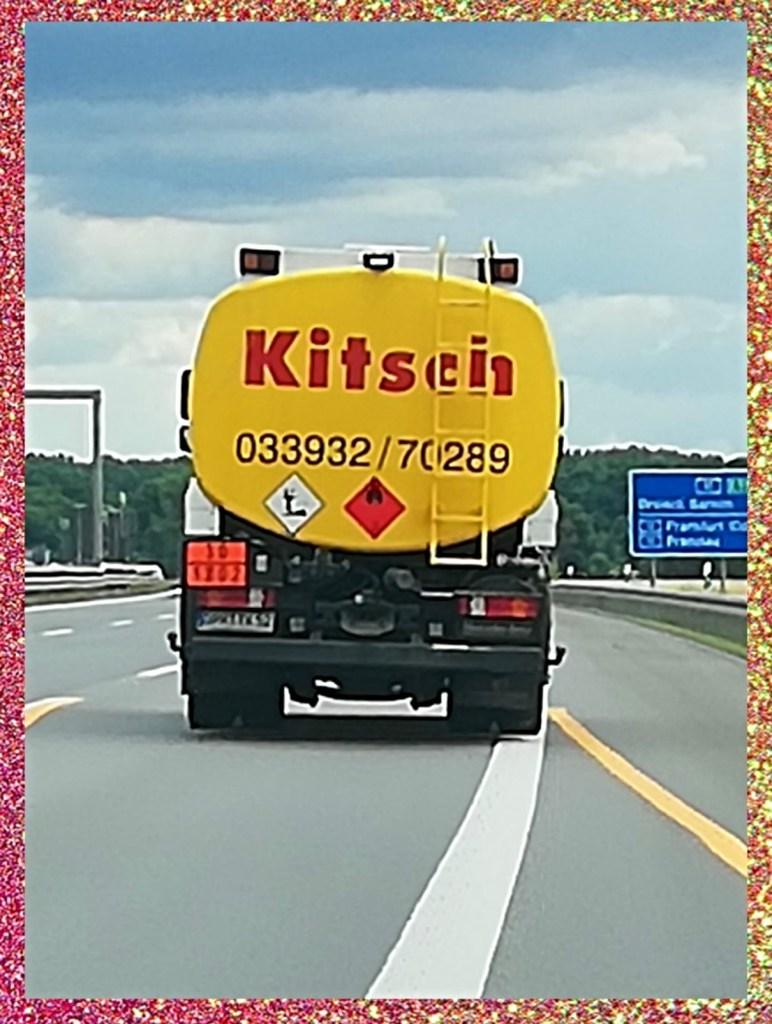 Kitsch truck Brennstoffhandel Fehrbelin bekitschig.blog