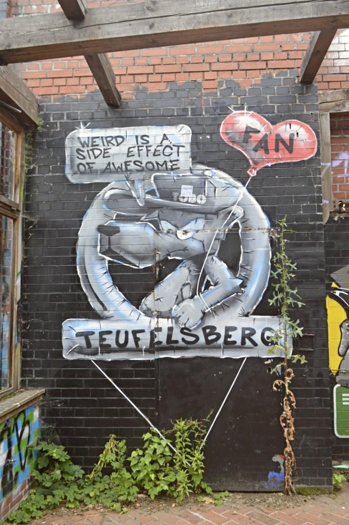 Weird is a side effect of awesome TOBO Berlin streetart graffiti