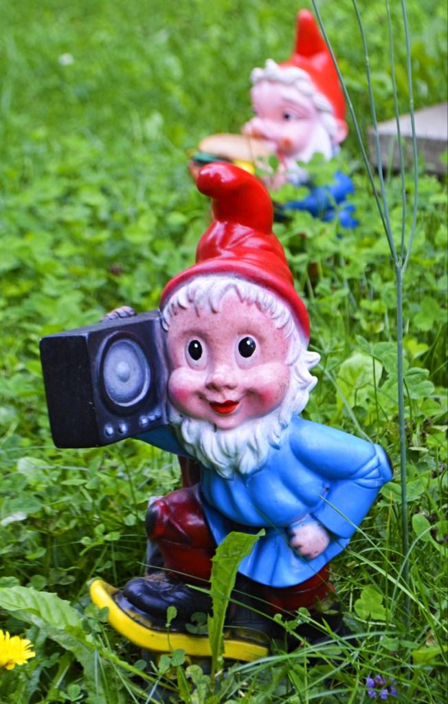 Garden Gnome Park Trusetal Thuringia travel kitschy bekitschig.blog boom box gnome