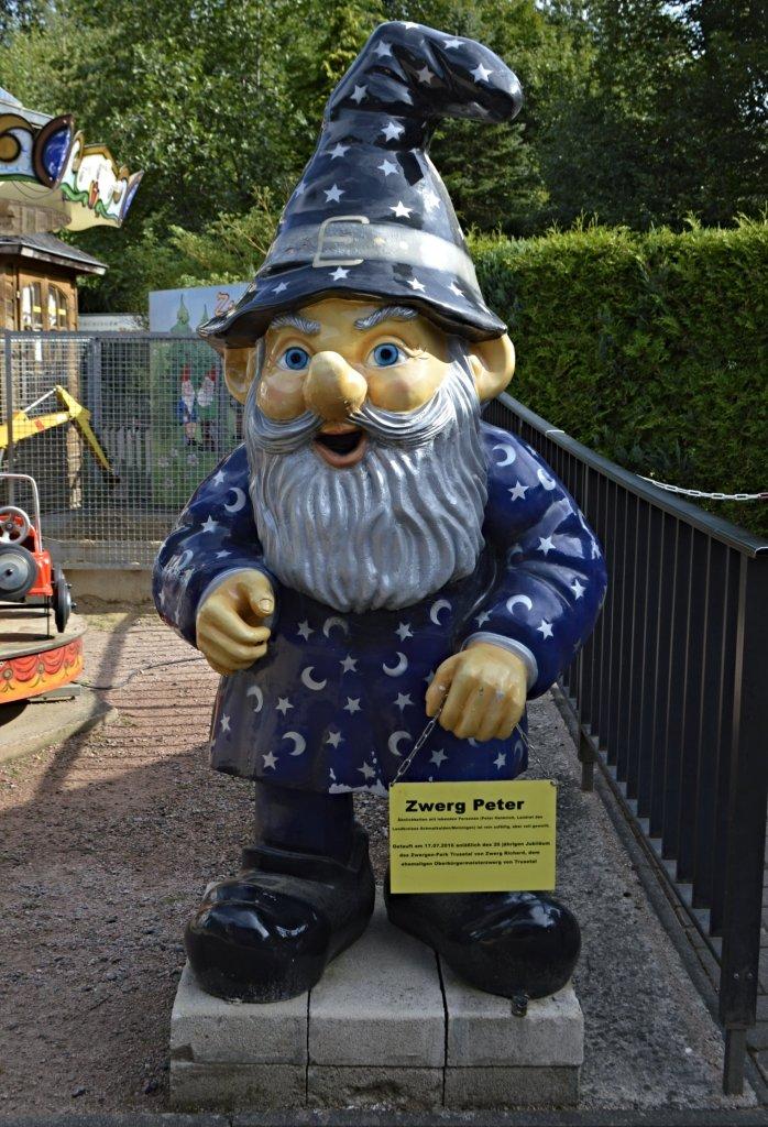 Zwerg Peter im Zwergenpark