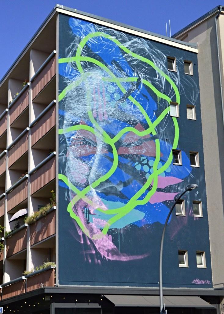 Askew One großes Wandbild  Schönhauser Stargader Str Berlin Prenzlauer Berg  bekitschig blog Murals in Berlin
