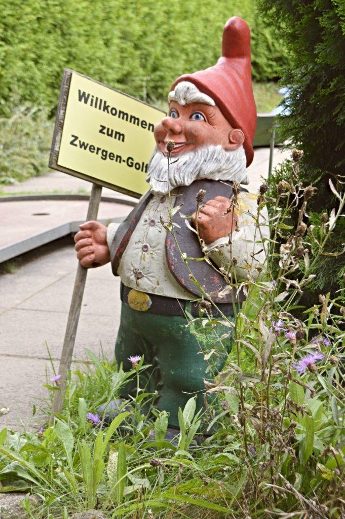 bekitschig.blog travel kitschy Minigolf im Zwergenpark