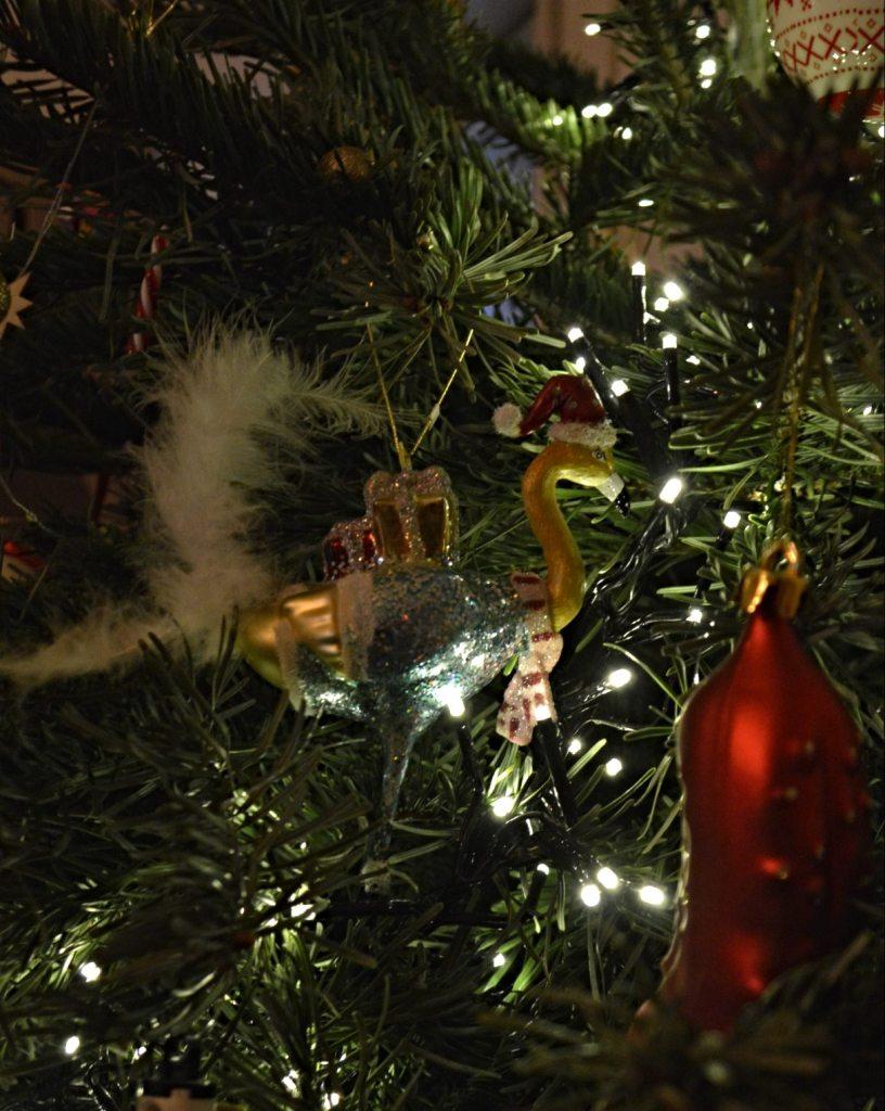 Christmas Flamigno Tree Decoration  Flamingo Weihnachtsbaum Schmuck  bekitschig blog Berlin