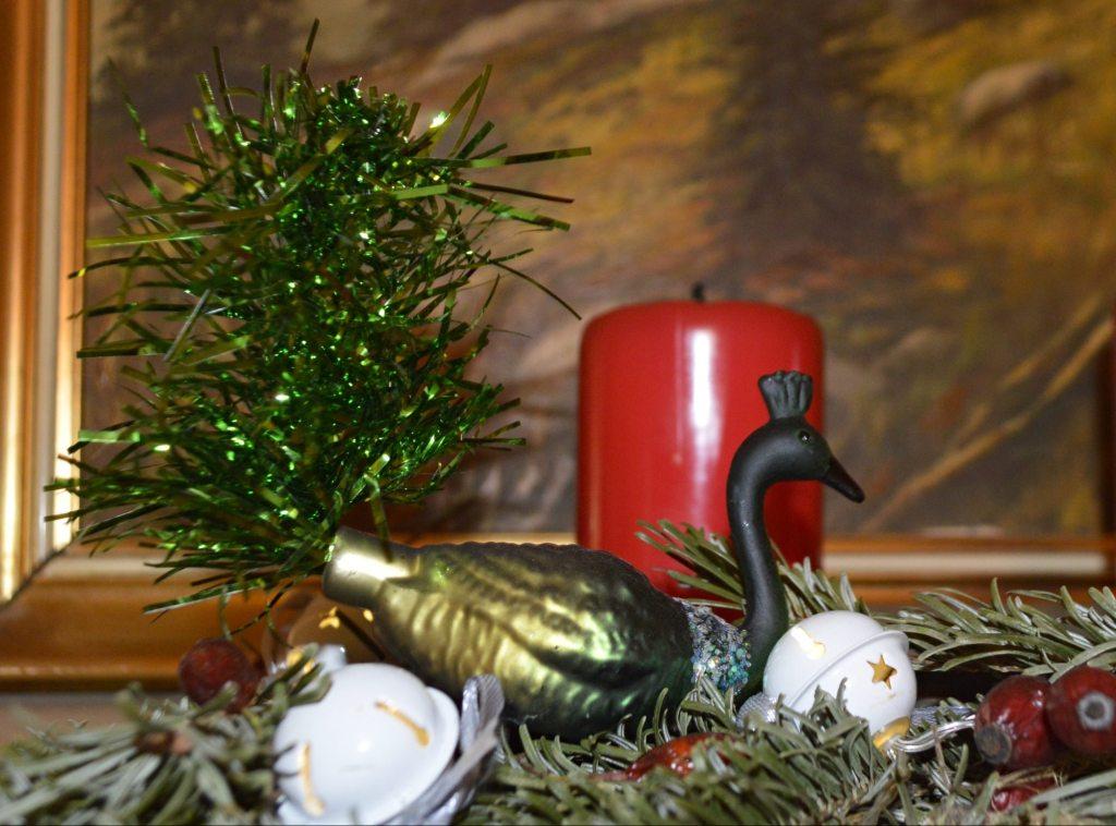 Weihnachts Pfau Christmas peacock  bekitschig blog
