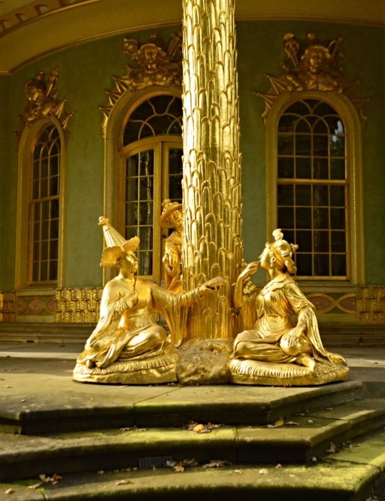 garden pavilion in Sanssouci Park in Potsdam Chinese House