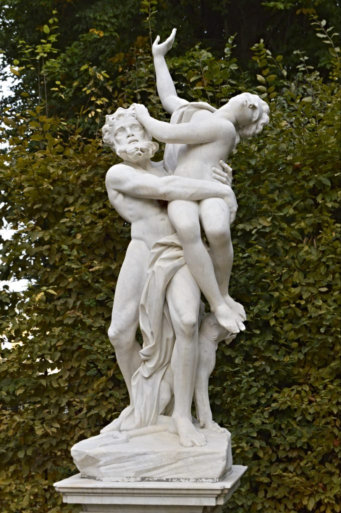 be kitschig blog - Statues in the Park - Sanssouci Palace Potsdam Germany  kitschy travel destinations