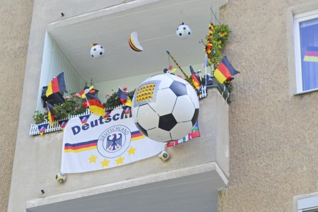 One of the best balconies for decorations in Berlin