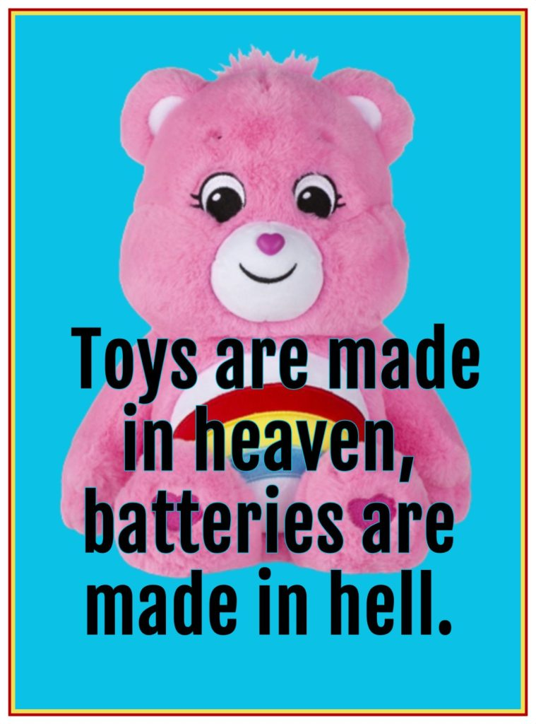 be kitschig blog Quote Toys are made in Heaven