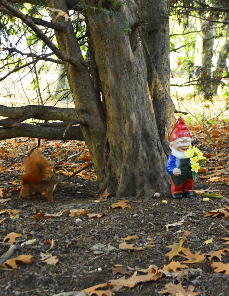 A Tiny Makeover for a tiny garden gnome - be kitschig blog
