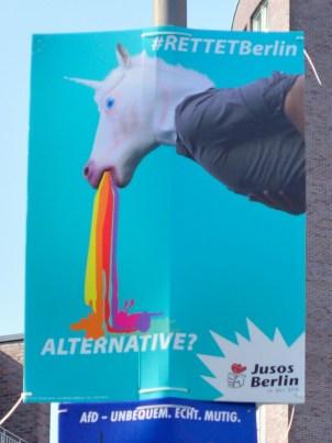 #rettetBerlin #unicorn #rainbow