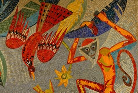 #affe #Mosaik