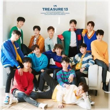Top kpop 12-member boy group TREASURE of YG Entertainment