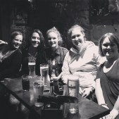 The girls in Edinburgh