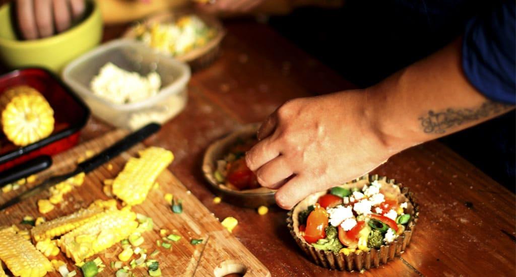 talleres de cocina vegana barcelona