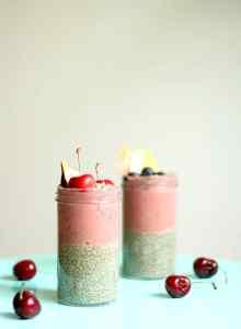 cómo hacer chía pudding facil