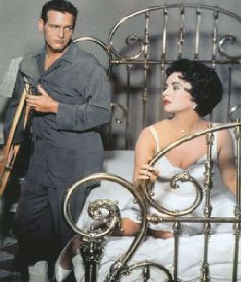 Paul Newman și Elizabeth Taylor 1958