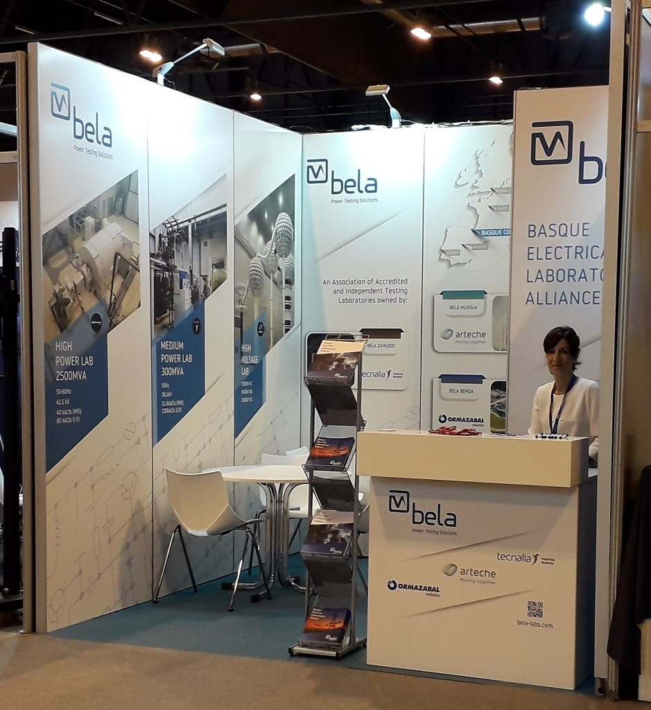 BELA stand CIRED 2019