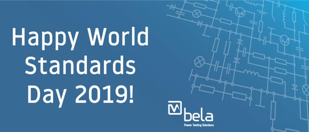 Happy World Standards Day 2019!