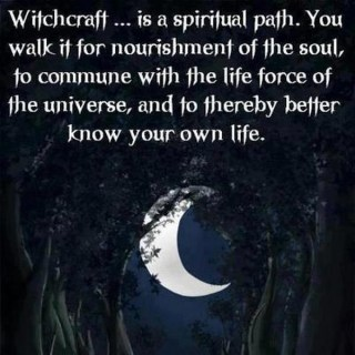 Witchcraft has some very spiritual elements to the practice. Witchcraft like any other magical path is a way for us to connect to our higher selves, the divine, and many spirits out there. Most witches just seek to work in harmony with spirits more actively than other magical paths and practices.