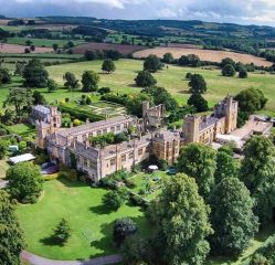 15th-century Sudeley Castle in the Cotswolds near Winchcombe, Gloucestershire, E