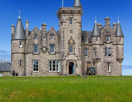 Glengorm Castle, also known as Castle Sorn, is a 19th-century country house on t