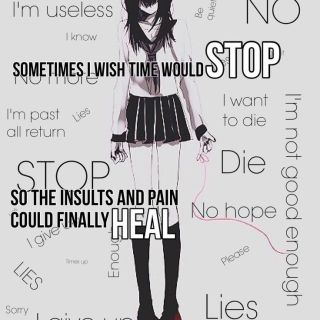 Hate hate hate depression! I love the person inside!