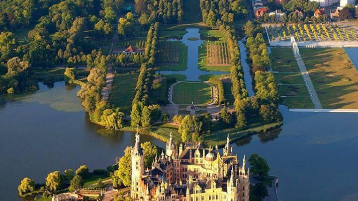Schwerin Castle, Germany.