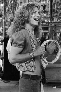 Robert Plant, 6'1″, West Bromwich, Staffordshire, England (English father, Romani mot ...