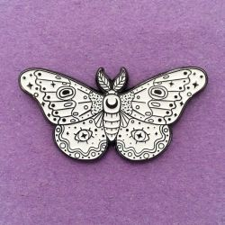 Image of Moth White