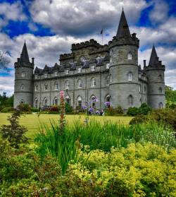 Inverary Castle, Scotland.