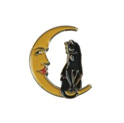 PIN THE CAT AND THE MOON — VERAMEAT                                                              ...