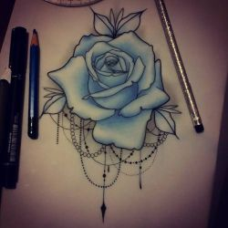 neo traditional rose tattoo – Recherche Google