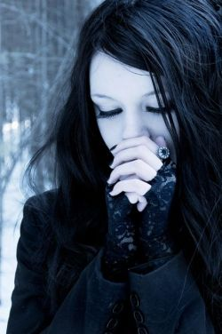 Gothic girl ( Get your goth on with gothic punk clothing – a favorite repin of www.vipfash ...