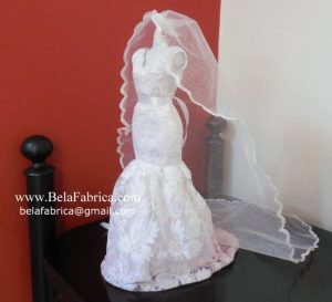 Miniature Replica of Davids Bridal WG3757