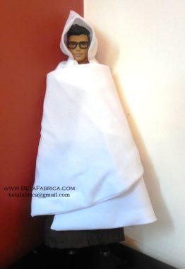 Miniature Replica of Male Algerian or Moroccon outfit- Burnous traditional kabyle for men BY BELAFABRICA