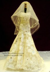 Miniature Replica Wedding Dress of Galina signature SWG605 BY BELAFABRICA