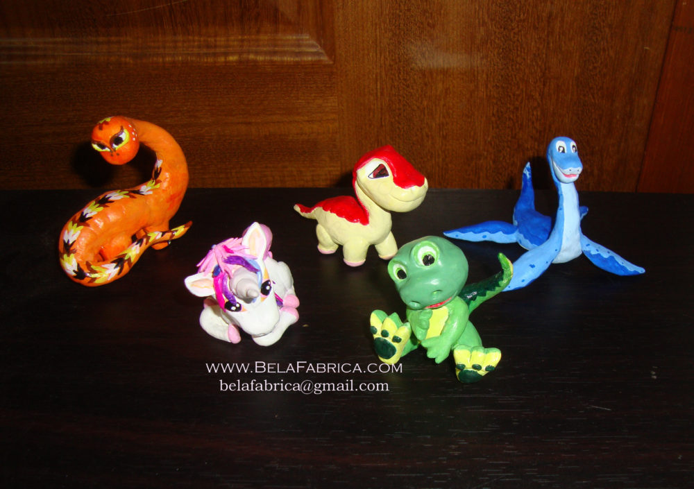Clay Figurines BY BelaFabrica