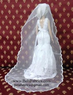 Davids Bridal WG3757 Back View Miniature replica