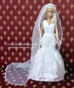 Davids Bridal WG3757 Miniature Replica by BELAFABRICA