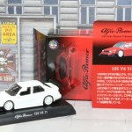 京商 Alfa Romeo Minicar Collection 4 155 V6 Ti 1/64 アルファロメオ