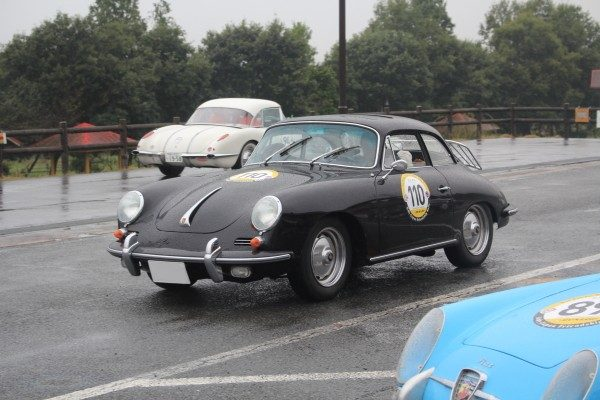 1961 PORSCHE 356B SUPER 90 KARMANN BODY