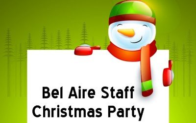 Bel Aire Staff Christmas Party
