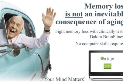 Memory loss is not inevitable