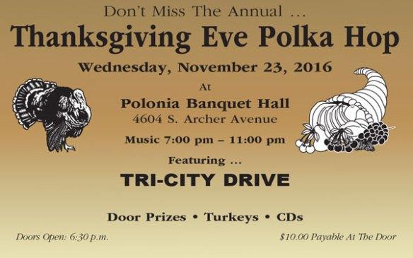 Thanksgiving Eve Polka Hop 2016